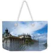 Karlsplatz Fountain Weekender Tote Bag