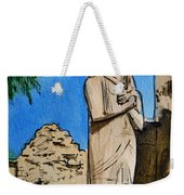 Karnak Temple Egypt Weekender Tote Bag by Irina Sztukowski