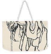 Katsushika Hokusai Weekender Tote Bag