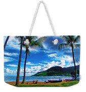 Kauai Beach And Palms Weekender Tote Bag