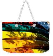 Kayak Colors Weekender Tote Bag