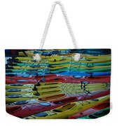 Kayak Row Weekender Tote Bag