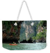 Kayaking In Thailand Weekender Tote Bag