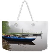 Kayaking Morning Weekender Tote Bag