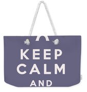 Keep Calm And Love Paris Weekender Tote Bag