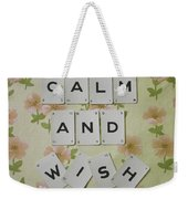 Keep Calm And Wish On Weekender Tote Bag