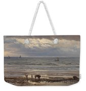 Kelp Gatherers Weekender Tote Bag by Henry Moore