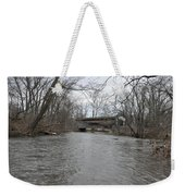 Kennedy Bridge Over French Creek Weekender Tote Bag