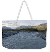 Kennicott River And The Wrangell Weekender Tote Bag