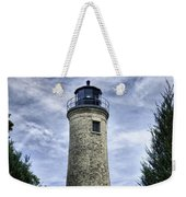 Kenosha Southport Lighthouse Weekender Tote Bag