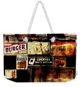 Kentucky Shed Ad Signs Weekender Tote Bag