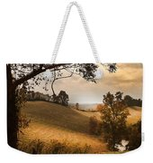 Kentucky Type Hayfields Weekender Tote Bag