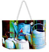 Kettles And Cans To Water The Garden Weekender Tote Bag
