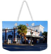 Key West Bar Sloppy Joes Weekender Tote Bag by Susanne Van Hulst