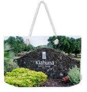Kiahuna Golf Club Weekender Tote Bag