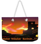 Kid Monsta And The England Riots Weekender Tote Bag