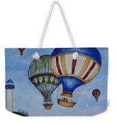 Kid's Art- Balloon Ride Weekender Tote Bag