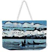 Killer Whales Weekender Tote Bag