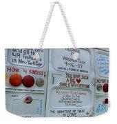 Kindness Bus 3 Weekender Tote Bag