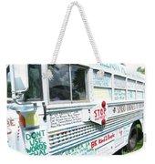 Kindness Bus 8 Weekender Tote Bag