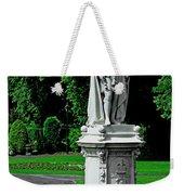 King Edward Vii Statue - Lichfield Weekender Tote Bag