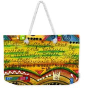 King Of Keys Weekender Tote Bag
