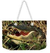 King Of The Swamp Weekender Tote Bag