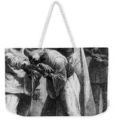 King Riouga And Samuel Baker, 1869 Weekender Tote Bag by Photo Researchers