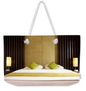 King Size Bed Weekender Tote Bag