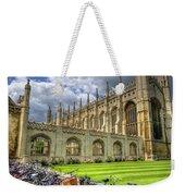 Kings College Cambridge Weekender Tote Bag