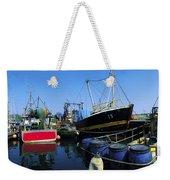 Kinsale, Co Cork, Ireland Fishing Boats Weekender Tote Bag