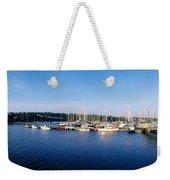 Kinsale, Co Cork, Ireland Moored Boats Weekender Tote Bag
