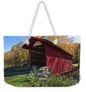 Kissing Bridge 2 Weekender Tote Bag