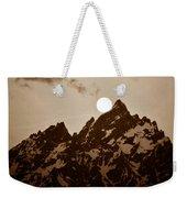 Kissing The Teton Weekender Tote Bag