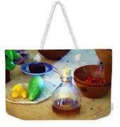 Kitchen Americana Weekender Tote Bag