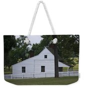 Kitchen And Slave Quarters Appomattox Virginia Weekender Tote Bag