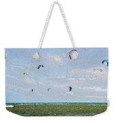 Kites Over The Bay Weekender Tote Bag