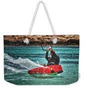 Kitesurfer Weekender Tote Bag by Stelios Kleanthous