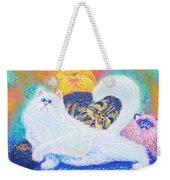 Kitties For Jenny Weekender Tote Bag