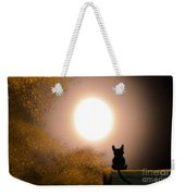 Kitty And The Moon Weekender Tote Bag