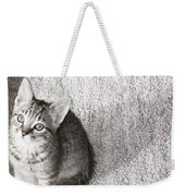 Kitty's Shadow Weekender Tote Bag
