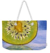 Kiwi Reflection Weekender Tote Bag