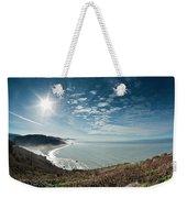 Klamath Overlook With Sun Weekender Tote Bag