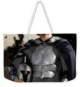 Knight In Shining Armour Weekender Tote Bag by Yedidya yos mizrachi