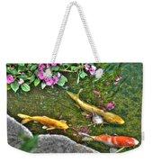 Koi Fish Poses Weekender Tote Bag