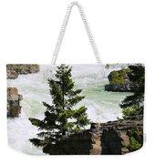 Kootenai Falls In Montana Weekender Tote Bag