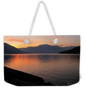 Kootenay Lake September Splendor Weekender Tote Bag