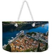 Kotor Montenegro Weekender Tote Bag