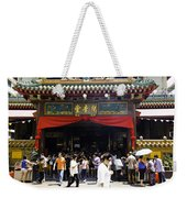 Kwan Im Tong Hood Cho Buddhist Temple In The Bugis Area In Singa Weekender Tote Bag