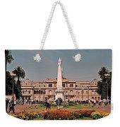 La Casa Rosada ... Weekender Tote Bag